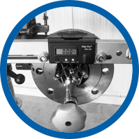 Flange repair equipment