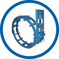 Heavy-duty Hydraulic External Pipe Clamp