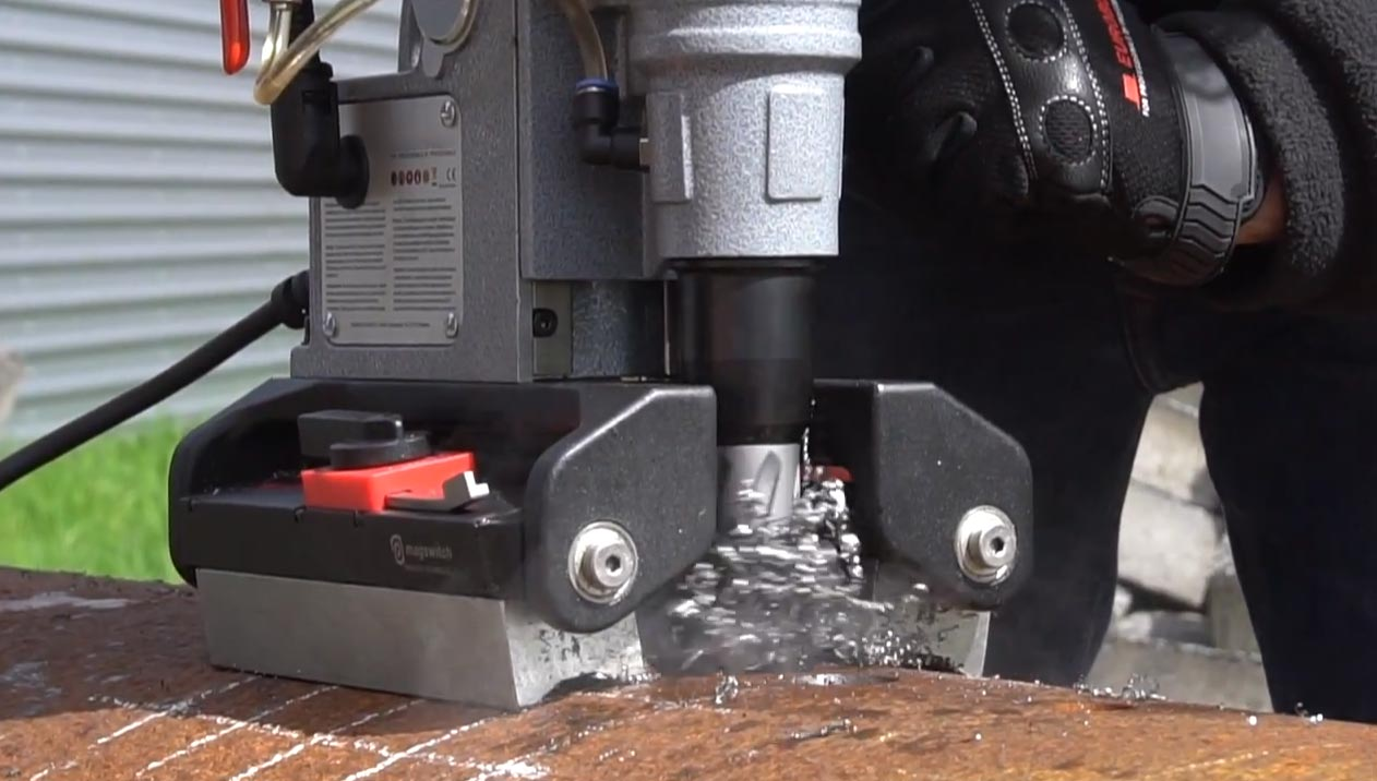 Magnetic Drilling