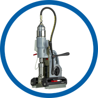 Pneumatic Magnetic Drilling Machine for pipes TUBE.55/AIR