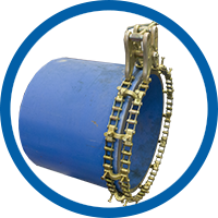 Double Pipe Chain Clamps