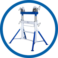Pipe Jack Stand Twin Stand