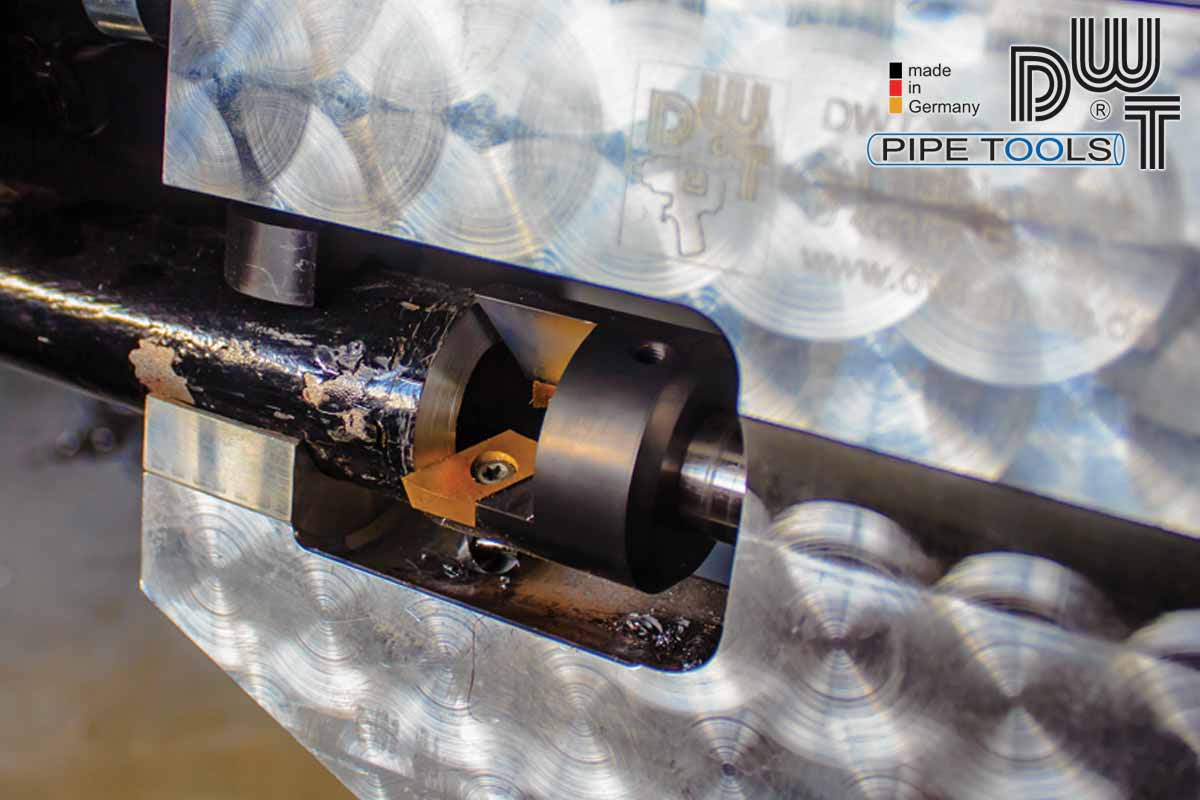 Pipe Beveler - Quality made in Germany | DWT PipeTools