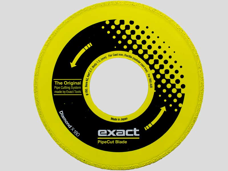 Exact Diamond Disc  X180