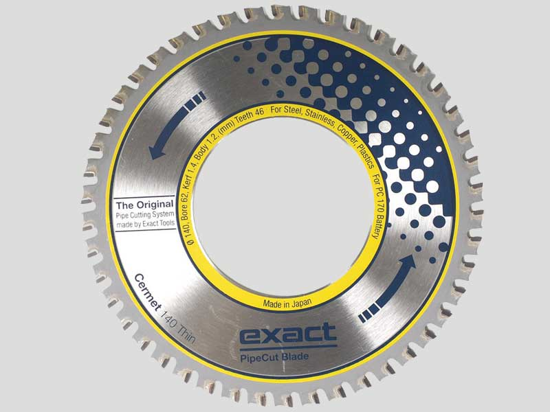 Exact Saw Blade Cermet 140 Thin