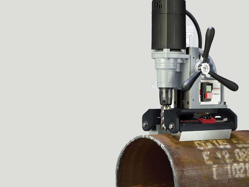 Magnetic Drill for pipes