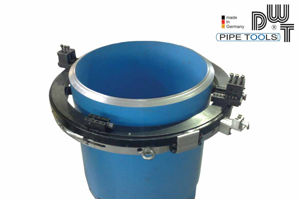 Pipe cold cutting machine - for heavy wall pipes