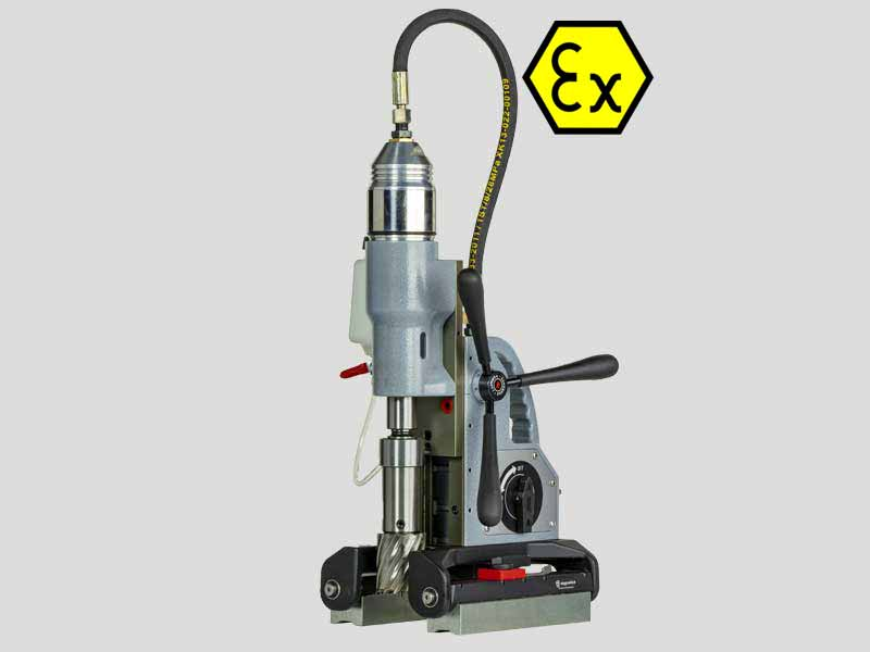 Pneumatic Magnetic Drilling Machine for pipes