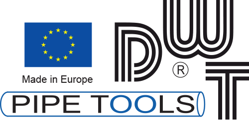 Logo DWT Pipe Tools made in Europe