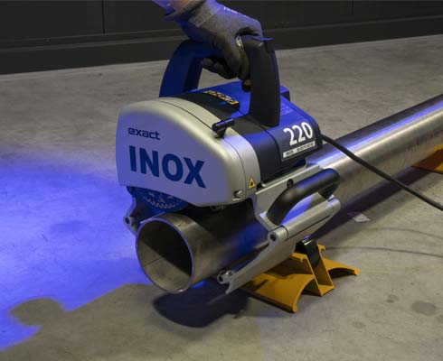Stainless Steel Pipe Cutter Exact Inox